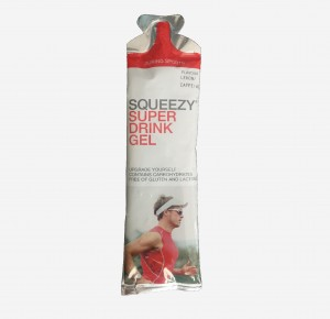 SQUEEZY DRINK GEL 60ML Z KOFEINĄ