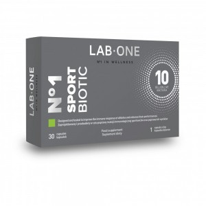LAB ONE SPORTBIOTIC 30 KAPS