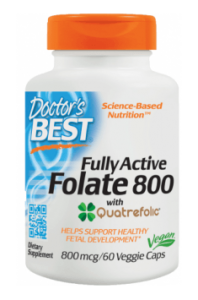 DOCTOR'S BEST FULLY ACTIVE FOLATE 800mcg 60 KAPS