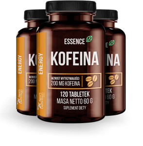 ESSENCE KOFEINA 200MG 120 TABS