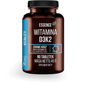 ESSENCE WITAMINA D3 + K2 90 TABS