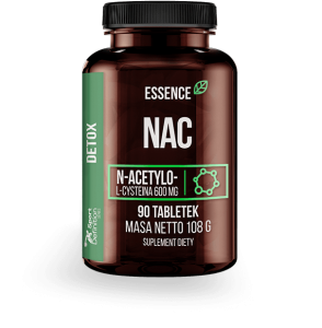 ESSENCE NAC 600MG 90 TABS