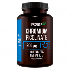 ESSENCE CHROMIUM PICOLINATE 180 TABS