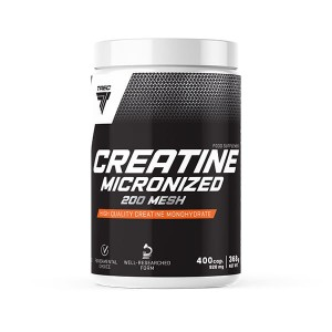 TREC CREATINE MICRONIZED 200 MESH 400 CAPS