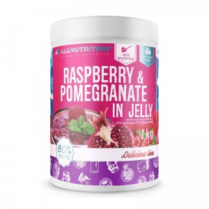 RASPBERRY & POMEGRANATE IN JELLY 1000g, maliny z granatem w żelu