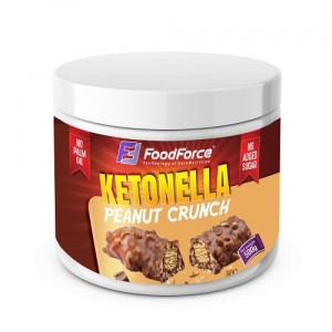 FOOD FORCE KETONELLA PEANUT CRUNCH  500 G promocja