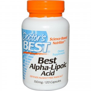 DOCTOR'S BEST ALPHA-LIPOLIC ACID 150MG 120 CAPS
