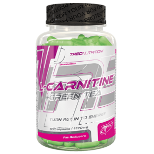 TREC L-CARNITINE+GREEN TEA SOFT GEL 180 CAPS