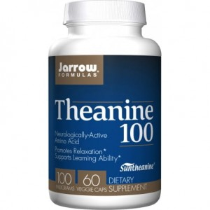 JARROW THEANINE 100 100MG 60 KAPS