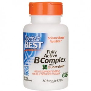 DOCTOR'S BEST FULLY ACTIVE B-COMPLEX 30 CAPS