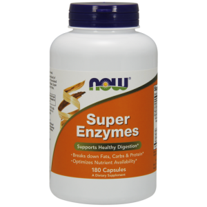 NOW FOODS SUPER ENZYMES 180 CAPS