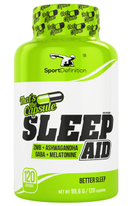 SPORT DEFINITION SLEEP AID 120 CAPS