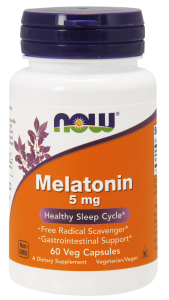 NOW FOODS MELATONIN 5MG 60 CAPS