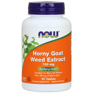 NOW FOODS HORNY GOAT WEED 90 KAPS
