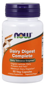 NOW FOODS DAIRY DIGEST COMPLETE 90 CAPS