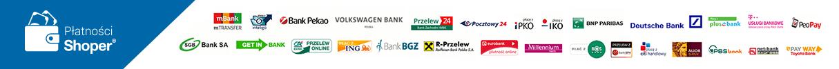 Rodzaje płatności sklepu z odżywkami ACTIVUS