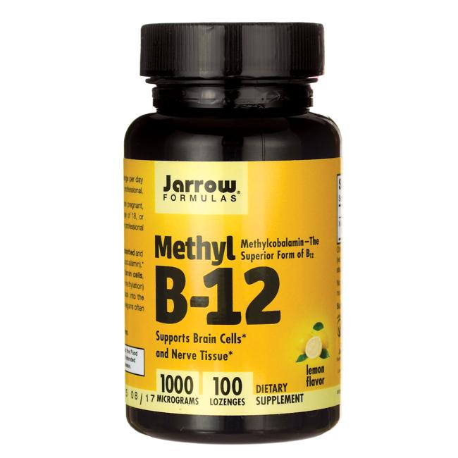 JARROW METHYL B12 1000mcg 100 TABS